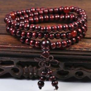 6mm Sandalwood Buddha Meditation Bracelet/Necklac